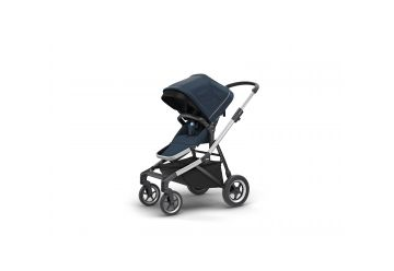 THULE SLEEK NAVY BLUE S KORBIČKOU - 1