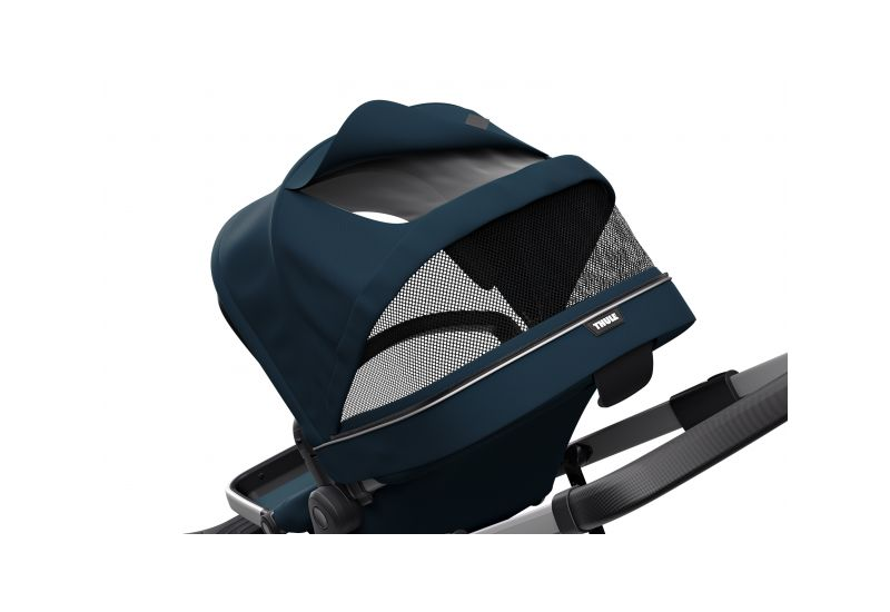 THULE SLEEK NAVY BLUE S KORBIČKOU - 6