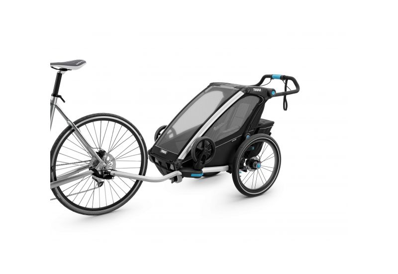 THULE CHARIOT CTS SPORT2, BLACK & JOGGER - 2