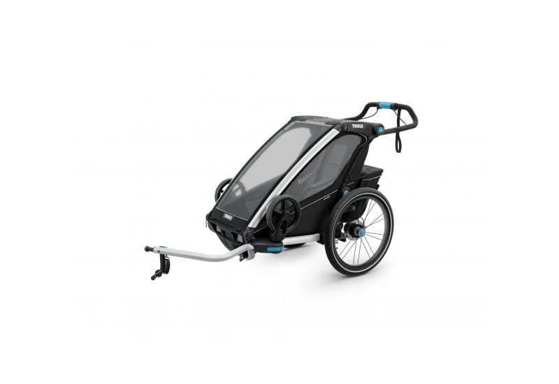 THULE CHARIOT CTS SPORT2, BLACK & JOGGER - 3