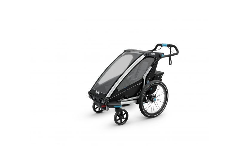 THULE CHARIOT CTS SPORT2, BLACK & JOGGER - 5