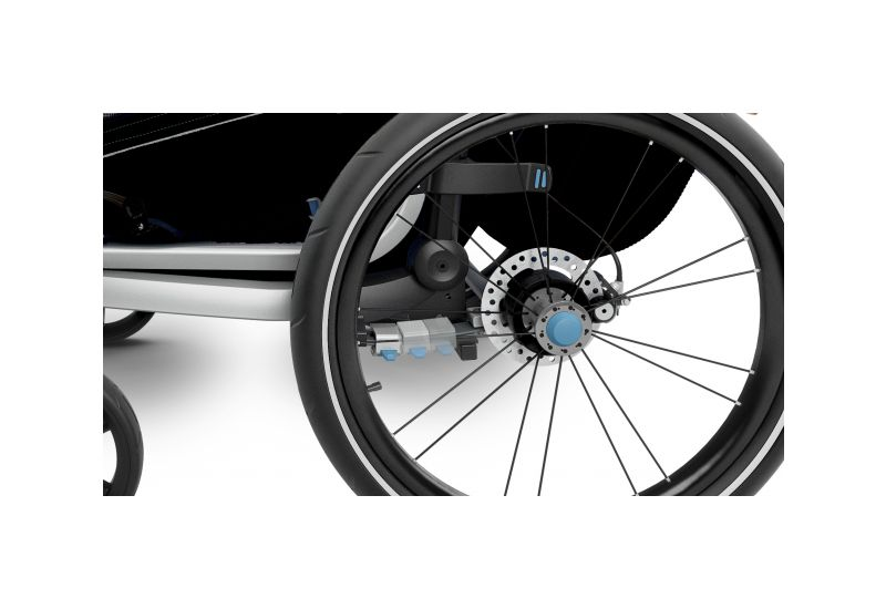 THULE CHARIOT CTS SPORT2, BLACK & JOGGER - 7