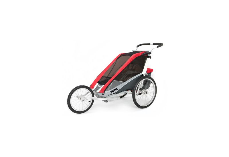 THULE CTS COUGAR 2 RED + BIKE - 1