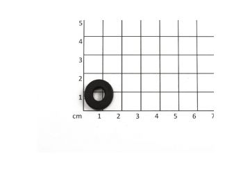 CRO KID podložka pro  přední nárazník (plastový, černý) - 1