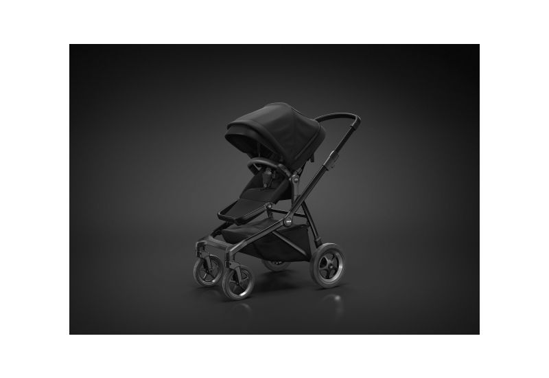 THULE SLEEK BLACK ON BLACK - 4