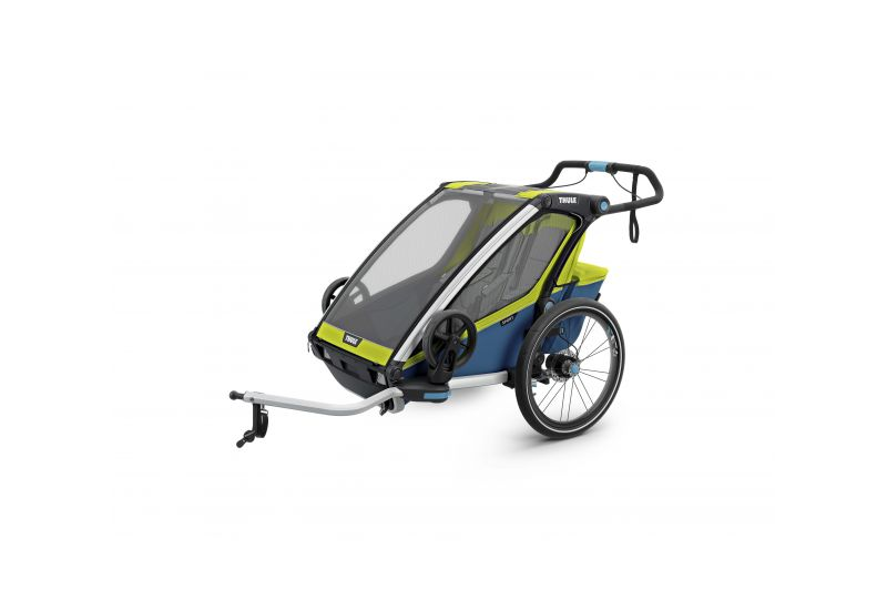 THULE CHARIOT CTS SPORT2, BLUE & GREEN - 2