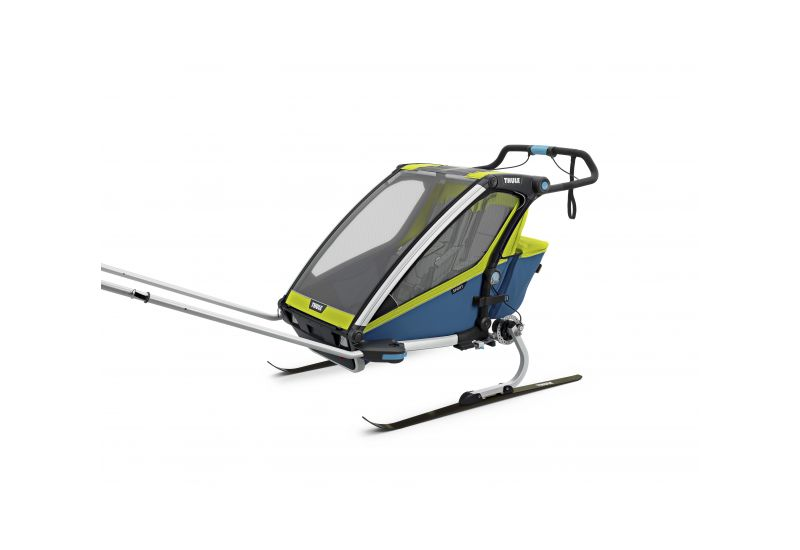 THULE CHARIOT CTS SPORT2, BLUE & GREEN - 4