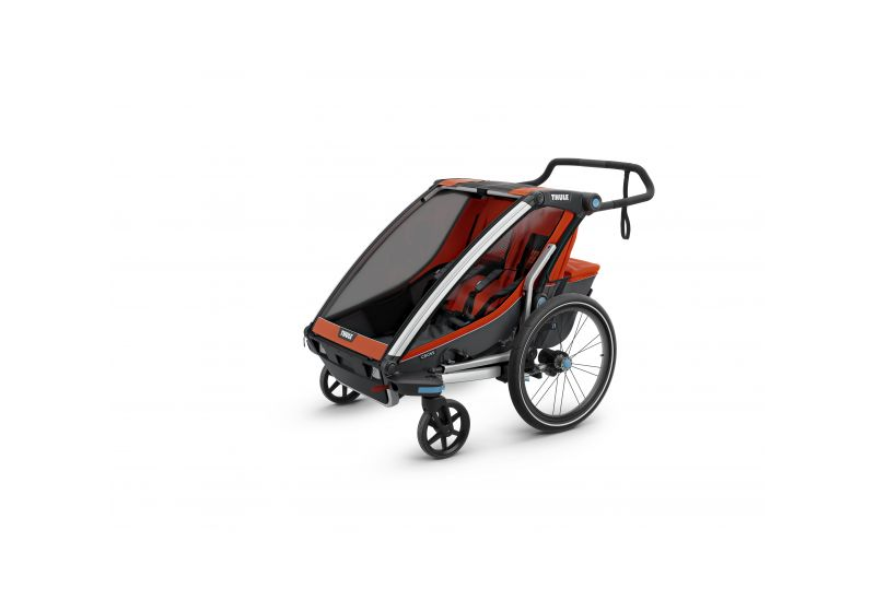 THULE CHARIOT CTS CROSS2, ORANGE - 7