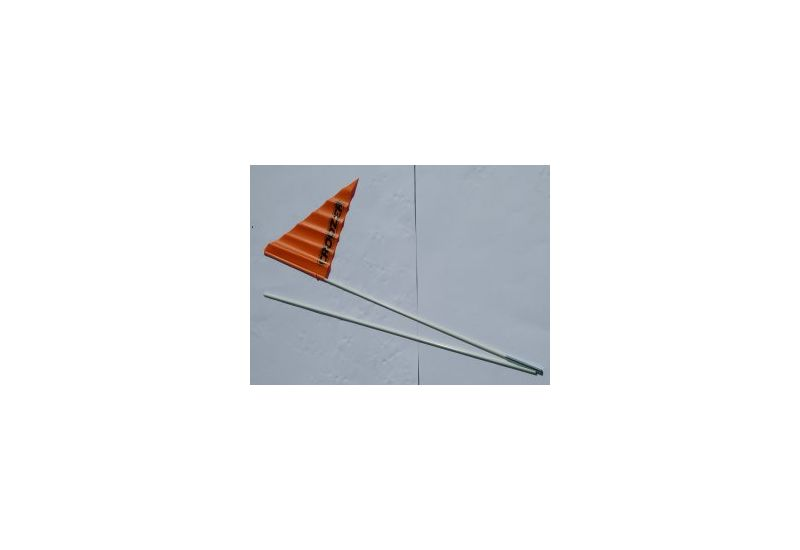 CRO KID praporek, oranžový - 1