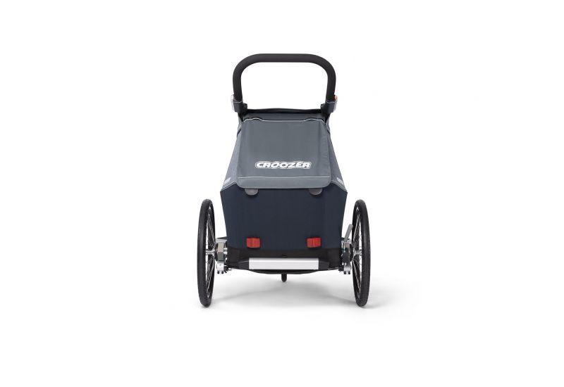 CROOZER KID FOR 1 PLUS Vaaya GRAPHITE BLUE 2020 3v1 odpružený vozík za kolo - 5