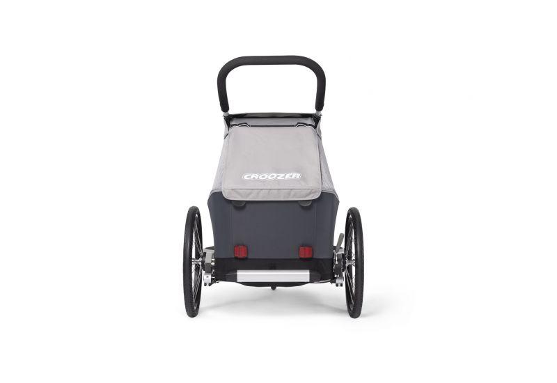 CROOZER KID FOR 1 Keeke STONE GREY 2020 2v1 odpružený vozík za kolo - 5