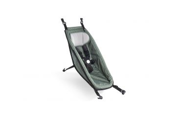 CROOZER MIMINKOVNÍK UNI 2014+ JUNGLE GREEN / BLACK - 1