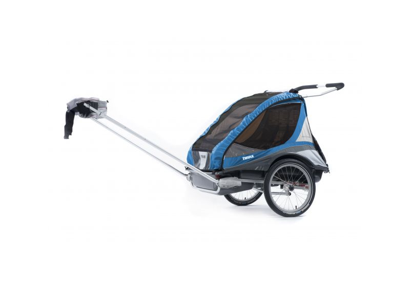 THULE CTS CAPTAIN 2 Blue + BIKE - 2