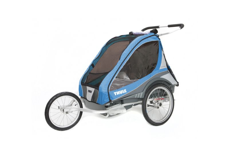 THULE CTS CAPTAIN 2 Blue + BIKE - 3