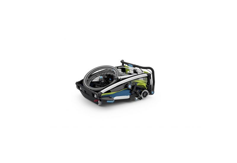 THULE CHARIOT CTS SPORT2, BLUE & GREEN - 5