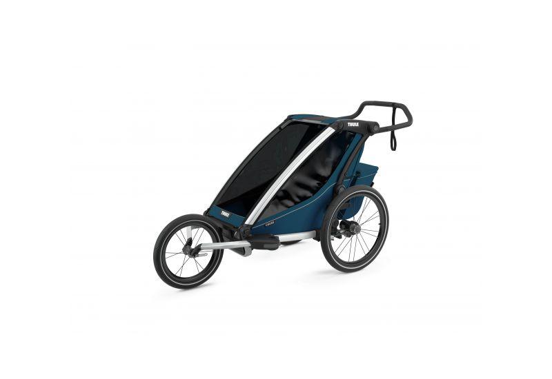 Thule Chariot Cross 1 Majolica Blue 2021 Thule Thule Chariot
