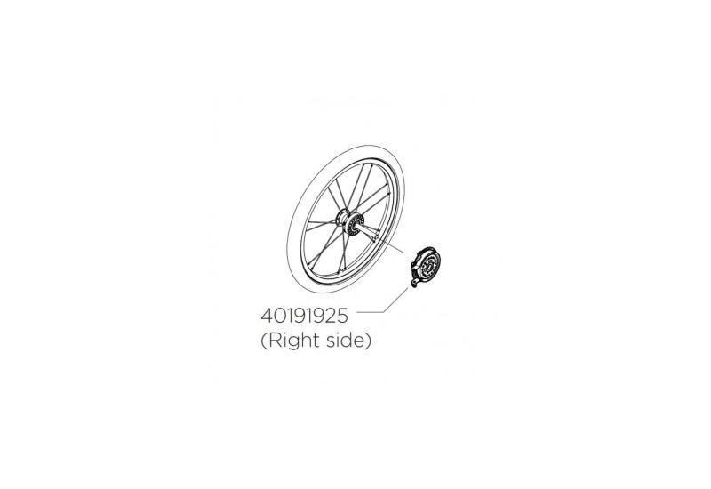 THU UG Náhradní buben brzdy pravý - 1