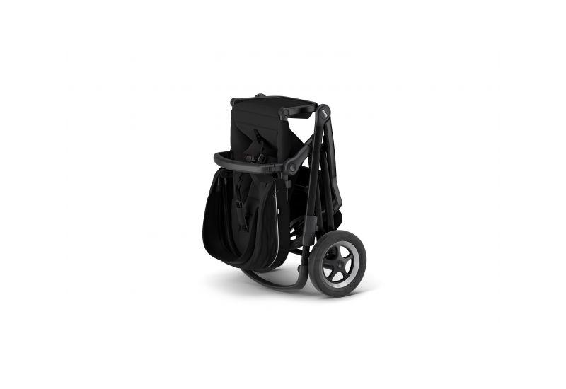 THULE SLEEK MIDNIGHT BLACK ON BLACK městský kočárek Thule Thule Sleek