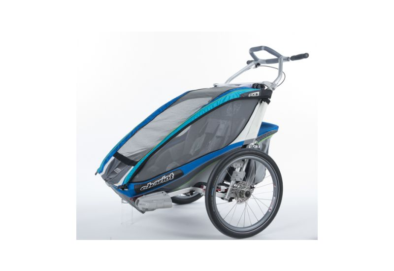 THULE CTS CX2 BLUE DISC + BIKE - 1