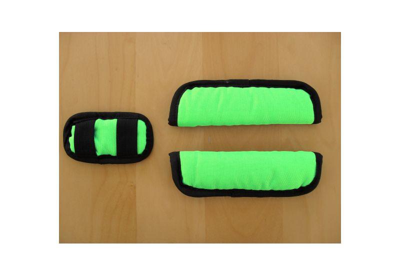 CRO KID polstrování  bezp. pásů zelené - 1