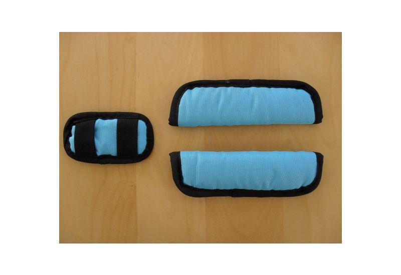 CRO KID polstrování  bezp. pásů modré - 1