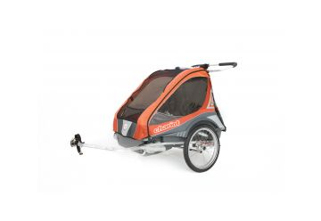 THULE CTS CAPTAIN 2 Orange + BIKE - 1