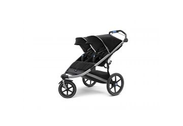 THULE URBAN GLIDE II BLACK DOUBLE - 1