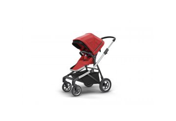 THULE SLEEK ENERGY RED S KORBIČKOU - 1