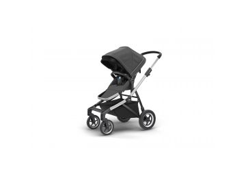 THULE SLEEK CHARCOAL GREY S KORBIČKOU - 1