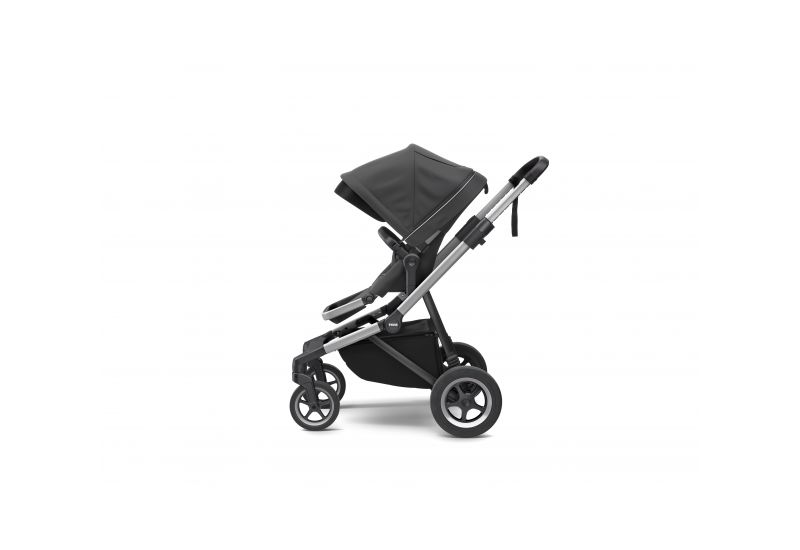 THULE SLEEK CHARCOAL GREY S KORBIČKOU - 2