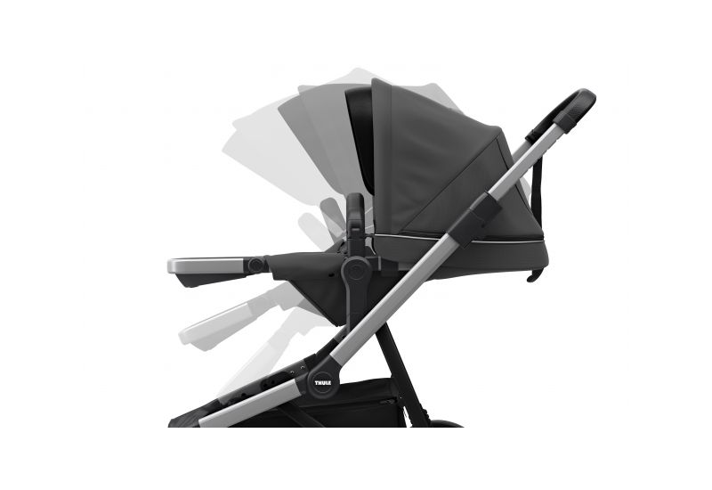 THULE SLEEK CHARCOAL GREY S KORBIČKOU - 4