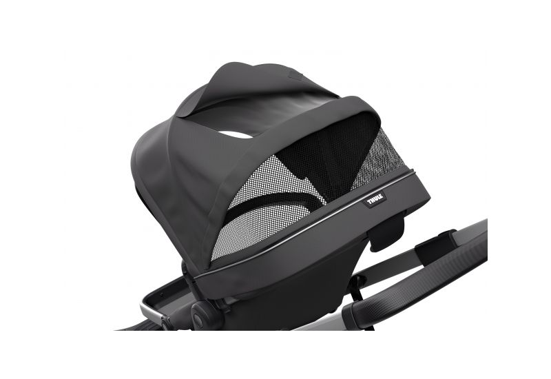 THULE SLEEK CHARCOAL GREY S KORBIČKOU - 6