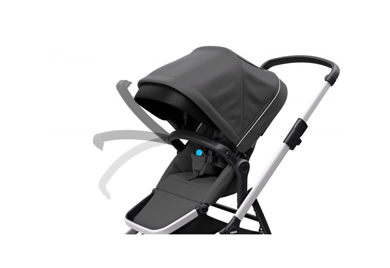 THULE SLEEK CHARCOAL GREY S KORBIČKOU - 8
