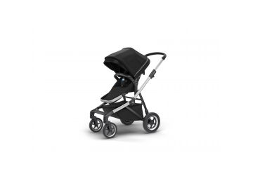 THULE SLEEK MIDNIGHT BLACK S KORBIČKOU - 1