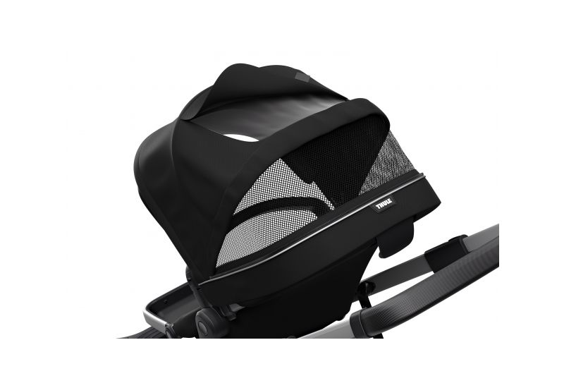 THULE SLEEK MIDNIGHT BLACK S KORBIČKOU - 6